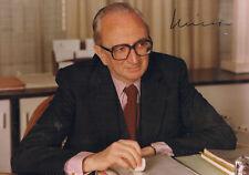 """Belgium European Commission Henri Simonet 1931-96 autograph signed 5""""x7"""" photo"""