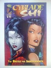 Cyblade/Shi: The Battle For Independents 1A VF/NM to NM- 1st App. Witchblade