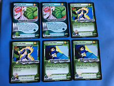 DRAGON BALL Z CARDS X2 NAMEKIAN THRUST X2 SAIYAN LEFT HOOK X2 SAIYAN PALM BLAST