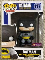 Funko POP! Heroes -DC Comics Vinyl Figure -BATMAN (Black)(The Dark Knight Rises)