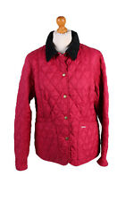 Vintage Barbour Quilted Jacket Womens Prism Quilt Outerwear Size 18 Red - C1944