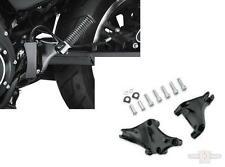 Black Rear Footpeg mounts Harley-Davidson XL Sportster 2014 & Later
