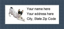 """Rat Terrier Return Address Labels  - Personalized """"BUY 3 GET ONE FREE"""""""