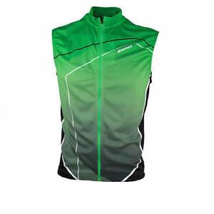 Ziener Function Lightweight Men's Bike Bicycle Vest Caixia Green 746 New