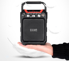 """4"""" Rechargeable  Party Speaker System Karaoke Bluetooth USB/SD/FM/Record"""