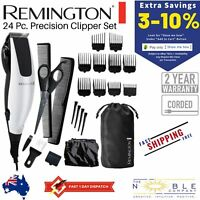 Remington Mens Electric Hair Clipper Cutting Trimmer Barber Clippers Shaver 23PC