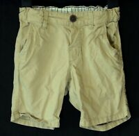 Baby Boys H&M Beige Light Brown Chino Cotton Smart Board Shorts Age 18-24 Months