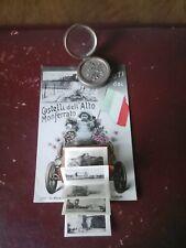 Cartolina valigetta alto monferrato saluti  alessandria 1916 viaggiata