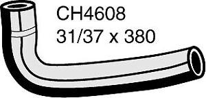 Mackay Radiator Hose (Top) CH4608 fits Jeep Wrangler 4.0 (TJ), 4.0 Rubicon (TJ)