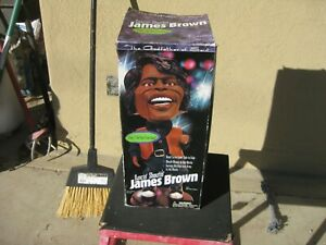 "2001 ANIMATED DANCIN' SHOUTIN' SINGING JAMES BROWN FIGURE - SINGS ""I FEEL GOOD"""