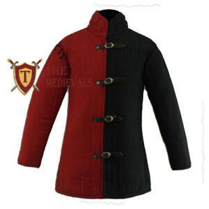 Quilted Costume Gambeson Armor LARP Dress Renaissance Knight or Medieval Dress