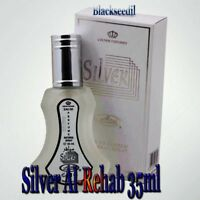 Silver By Al Rehab Perfume Spray EDP Arabian Fragrance Oil 35ml