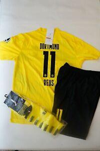 Dortmund #11 Reus Kids Jersey Kit Age 6-13 Yrs Shirt, short, socks 2020 / 21