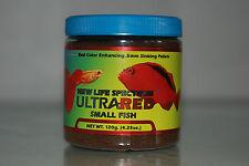 New Life Spectrum Ultra Red Small Fish Formula 120 gram Tub 0.5mm Sinking Pellet