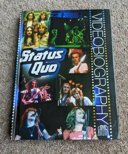 STATUS QUO Videobiography Region Free 2 Disc UK DVD SET