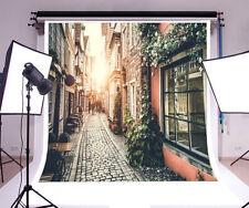 10x10ft City street Vinyl Photography Props Backdrops Studio Photo