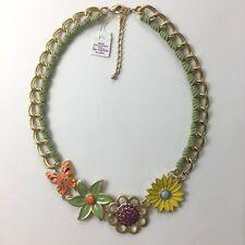 New Lia Sophia SPRING AHEAD Necklace