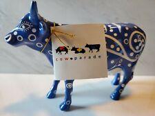 """Cow Parade #9154 """"Milky Way"""" 2000 - Hang Tag - Excellent Condition - Very Rare"""
