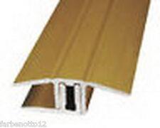 Laminat/Parkett Übergangschiene Gold, Silber, Buche usw