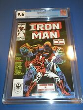 Invincible Iron Man #200 Bronze Key 1st Iron Monger CGC 9.6 NM+ Beauty New Armor