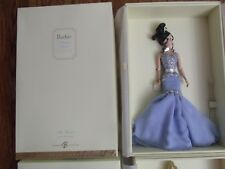 SORIEE Barbie Blue DRESS Gold Label Silkstone Fashion Model 2007 RARE