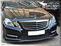 GH Style Carbon Fiber Front Lip for 10-13 M-Benz W212 AMG Sport E350 E550 Sedan