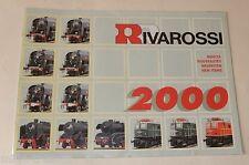 CATALOGUE des NOUVEAUTES 2000 RIVAROSSI : L'Aiguillon - Convoi PARIS-MONTPELLIER