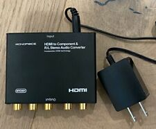 HDMI to Component Video & L/R RCA Stereo Audio Converter by Monoprice