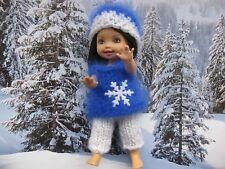 shelly kelly barbie tommy Puppenkleider  Angora  Handarbeit Vintage