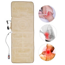 Automatic Full Body Massage Mattress Heating Far Infrared Fatigue Relief Cushion