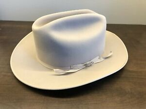 Stetson Open Road 6X Fur Felt Cowboy Hat - No Box - Silverbelly - 7 1/2