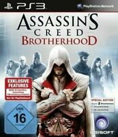 Assassin's Creed Brotherhood PS3 PlayStation 3 Video Game Mint Cond UK Release