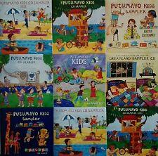 "PUTUMAYO WORLD MUSIC ""Putumayo Kids Sampler"" promo rare stock lot 9cd"