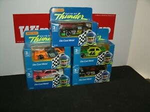 DAYS OF THUNDER MATCHBOX ALL OF THE 5 CARS IN A SET 1/64 VERY HARD TO FIND!!!