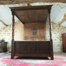 More details for antique four poster bed