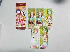 Love Live! Koizumi Hanayo Clear Bookmark Set Official Merchandise (+ Foil Rare)