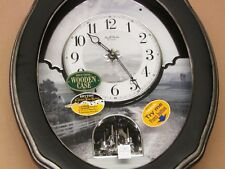 "NEW RHYTHM MUSICAL WALL CLOCK (30 MELODIES) -""JOYFULHOMESTEAD II  "" 4MH421WU02"