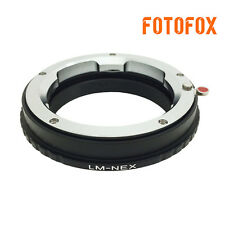 LM-NEX for Leica LM M Lens to Sony NEX 7 A7R A7II A6300 VG10 Mount Adapter