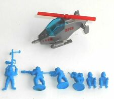 1980's Bluebird Toys - Zero Hour ~ ZF13 MINI COPTER ~ Helicopter Set - ????