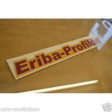ERIBA Profilee Caravan Name Stickers Decals Graphics - PAIR
