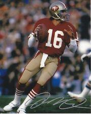 Joe Montana San Francisco 49ers autographed 8x10 photograph RP