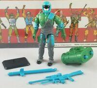 Original 1992 GI JOE FLAK VIPER V1 UNBROKEN figure ARAH not COMPLETE Cobra