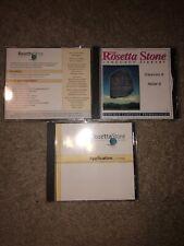 Rosetta Stone Italian Level 1 And 2 (Cd And Book Set)