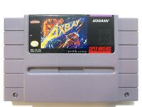 Axelay SUPER NINTENDO SNES Game Tested + Working & Authentic!