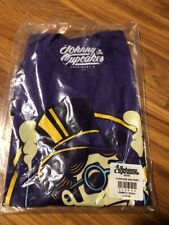 Johnny Cupcakes Cupcake Factory Willy Wonka 2015 Large Shirt New Sealed