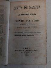 .  Un manuel scolaire du XIX è - Simon de Nantua - 1866 .