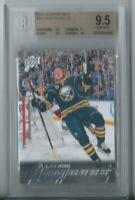 2015 Upper Deck Jack Eichel RC Rookie Young Guns  bgs 9/5