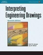 Interpreting Engineering Drawings (Drafting and Design), Jensen, Cecil H., Helse