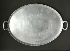 Everlast Hand Forged Hammered Aluminum Huge Serving Tray