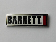 Barrett Rifles Sniper Gun Weapon M82 Rifle Lapel Hat Pin 1 inch